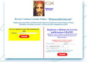 defensoresdecristo.com