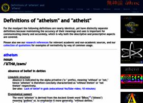 define-atheism.com