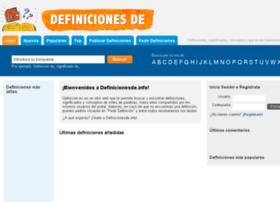 definicionesde.com