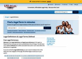 definitions.uslegal.com