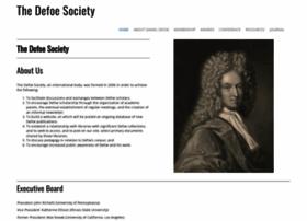 defoesociety.org