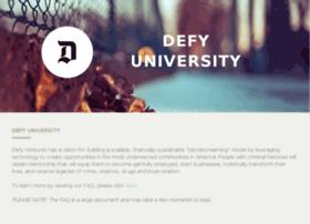defyuniversity.org