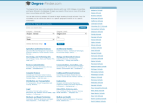 degree-finder.com