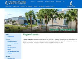degreeplanner.tamucc.edu