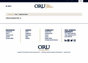 degreeplansheets.oru.edu