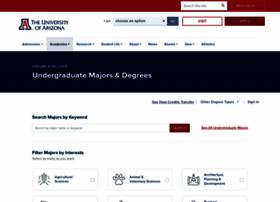 degreesearch.arizona.edu