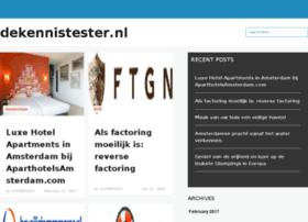 dekennistester.nl