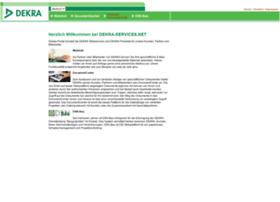 dekra-services.net