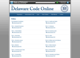 delcode.delaware.gov
