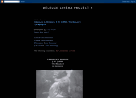 deleuzecinemaproject1.blogspot.com