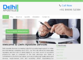 delhi-apostille.com