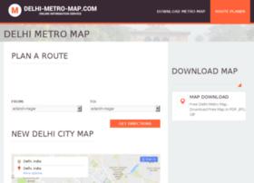 delhi-metro-map.com