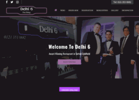 delhi6restaurant.co.uk