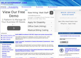 delhigovernmentjobs.in