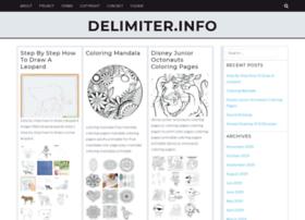 delimiter.info