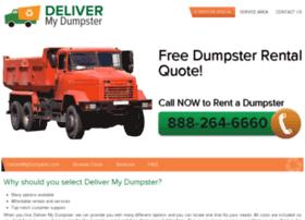 delivermydumpsters.com