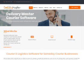deliverymastersoftware.co.uk