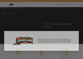 dellslumberjackshow.com