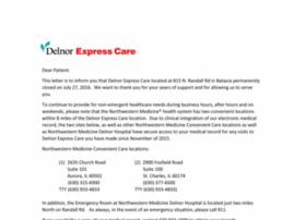 delnorexpresscare.com