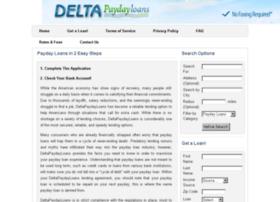 deltapaydayloans.com