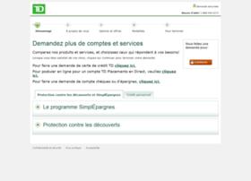 demande.td.com