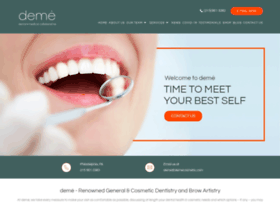 demecosmetic.com