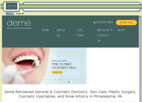 demecosmetic.mydentalvisit.com