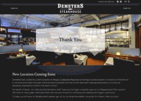 demeterssteakhouse.com