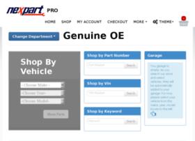demo-pro-oe.nexpartb2c.com