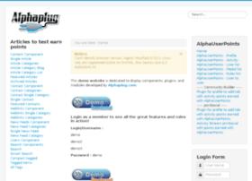 demo.alphaplug.com
