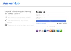 demo.answerhub.com