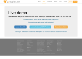 demo.b2evolution.net