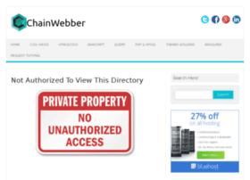 demo.chainwebber.com
