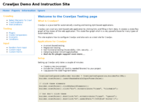 demo.crawljax.com