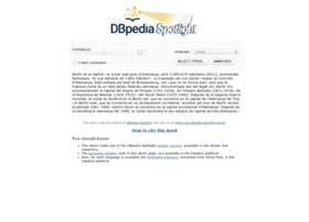 demo.dbpedia-spotlight.org