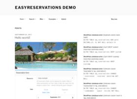 demo.easyreservations.org