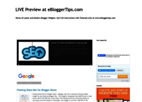 demo.ebloggertips.com