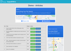 demo.expertphp.in