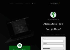 demo.finaldraft.com