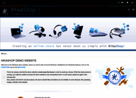 demo.hikashop.com
