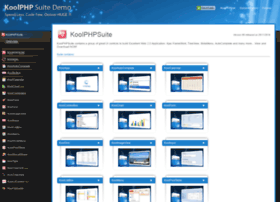 demo.koolphp.net