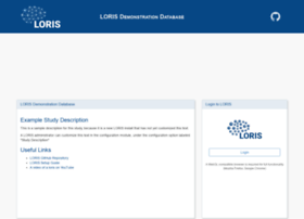 demo.loris.ca