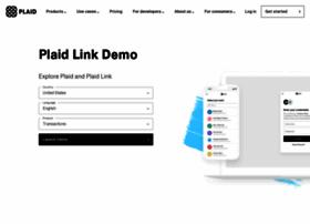 demo.plaid.com