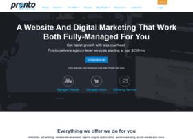 demo.prontomarketing.com