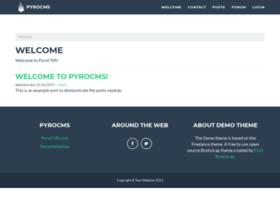 demo.pyrocms.com