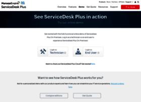 demo.servicedeskplus.com