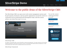 demo.silverstripe.com