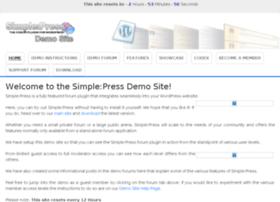 demo.simple-press.com