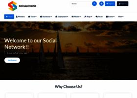 demo.socialengine.com