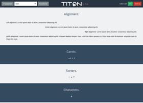 demo.titon.io